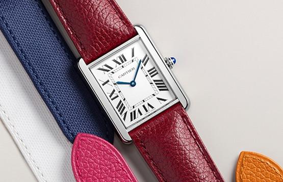 卡地亚手表表带拆卸