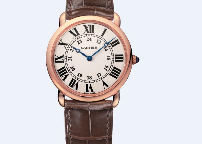 卡地亚维修服务中心维修好的手表展示