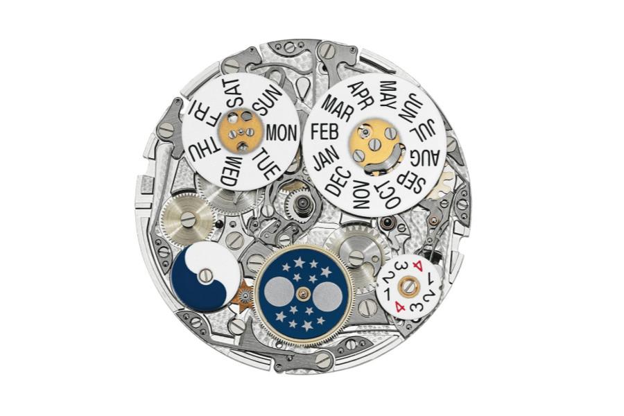 卡地亚腕表机芯展示图